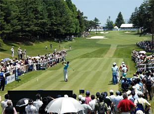 「日本ゴルフツアー選手権 森ビルカップ Shishido Hills」が茨城県にある宍戸ヒルズカントリークラブで明日開幕 #ゴルフ