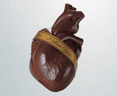 ハート型のチョコwww #バレンタイン #チョコ