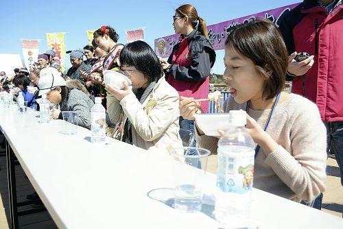 #水戸納豆早食い世界大会、男女とも記録更新 #納豆